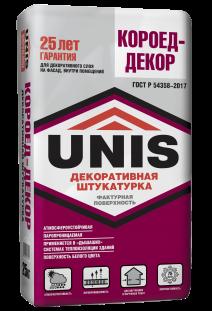 Декоративная штукатурка UNIS КОРОЕД-ДЕКОР